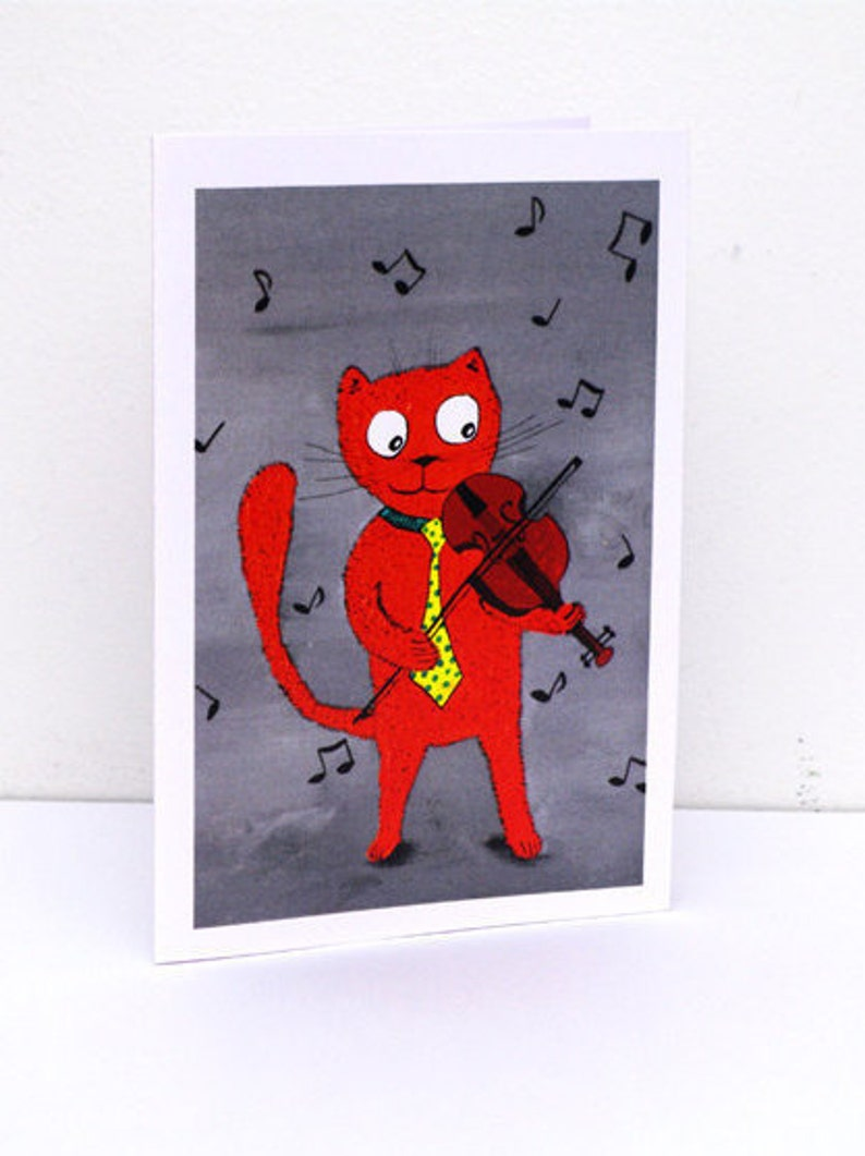 Musical Cute Funny Birthday Cards For Music Lover Unique