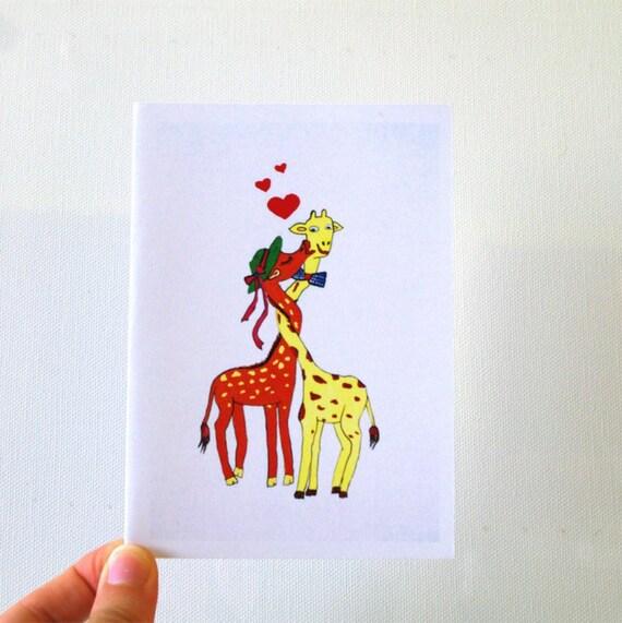 Boyfriend Birthday Card Giraffe Card Funny Cards Funny