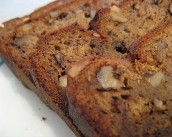 Banana Nut Bread, Homemade bread, Moist, & Delicious Banana Bread. Buy 1 get 2nd free, Edible gift, Gourmet bread, Dessert Bread, sweets