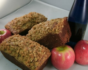 Homemade Apple bread, Moist Gourmet Apple bread  Buy 1 get 2nd free, edible gift, homemade treat, Dessert bread, Sweet snacks, holiday treat