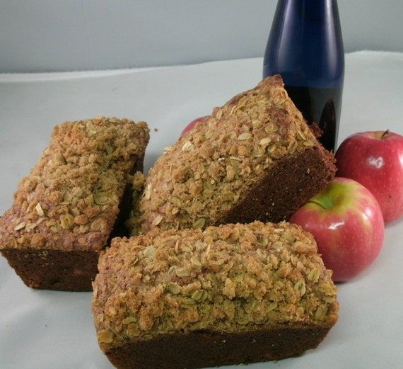 Apple bread, 3 Loaves Homemade bread, Moist & Delicious Apple bread Get 3 Loaves FREE SHIPPING