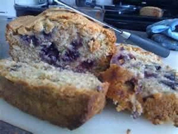 Zucchini Bread w/Blueberries 8 Loaves of Homemade bread, Moist Delicious Zucchini bread Get 8 Breads FREE SHIPPING
