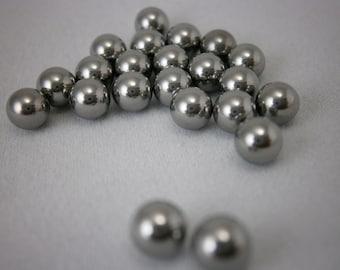 Stainless Steel Mixing Balls  - 4.5mm Wrecking Balls - DIY Nail Polish Crafting