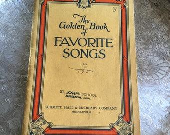 Golden Book of Favorite Songs-Schmitt, Hall & McCreary Company