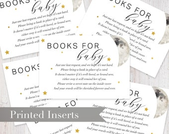 Love You to the Moon and Back Baby Shower Book Request