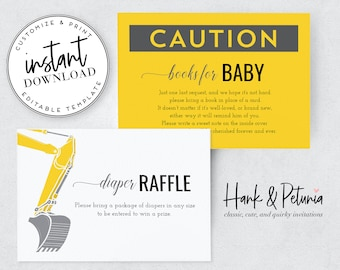 Baby Shower Inserts