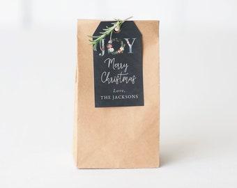 Editable Christmas Gift Tags, Holiday Neighbor Gift Tags, Customizable Christmas Gift Tags Instant Download [id:5492562]
