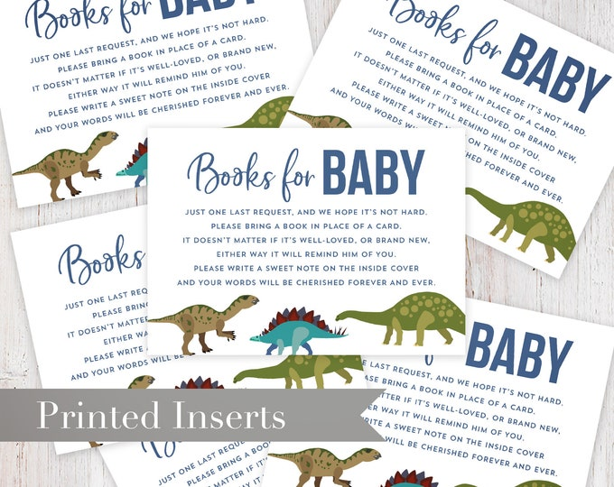 Dinosaur Shower Book Request