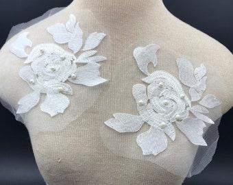 Black lacework petals,antique veiling petals garnish,Vintage Millinery veil trims,floral art-craft,flowers making,Needles works adornment