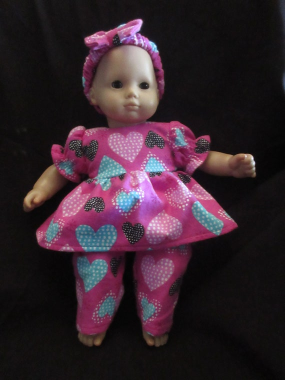 "15/"" Doll Clothes for Bitty Baby Sophia/'s @ Pink Bunny Slippers"