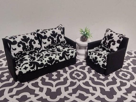 Doll Furniture For Mini American Girl Dolls Living Room Sofa   Etsy