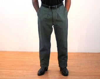 80s Military Trousers 34 Waist 893a4a5b7