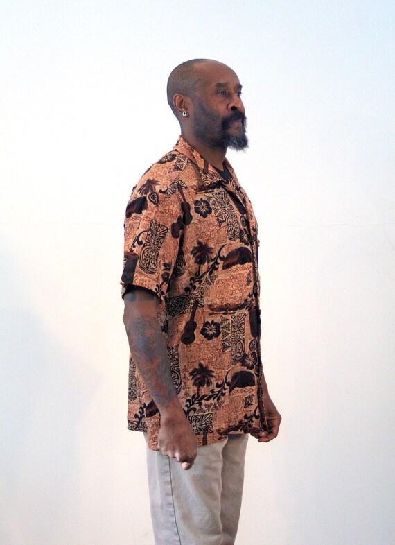 Rhythm Batik Camicia-Vintage Marrone