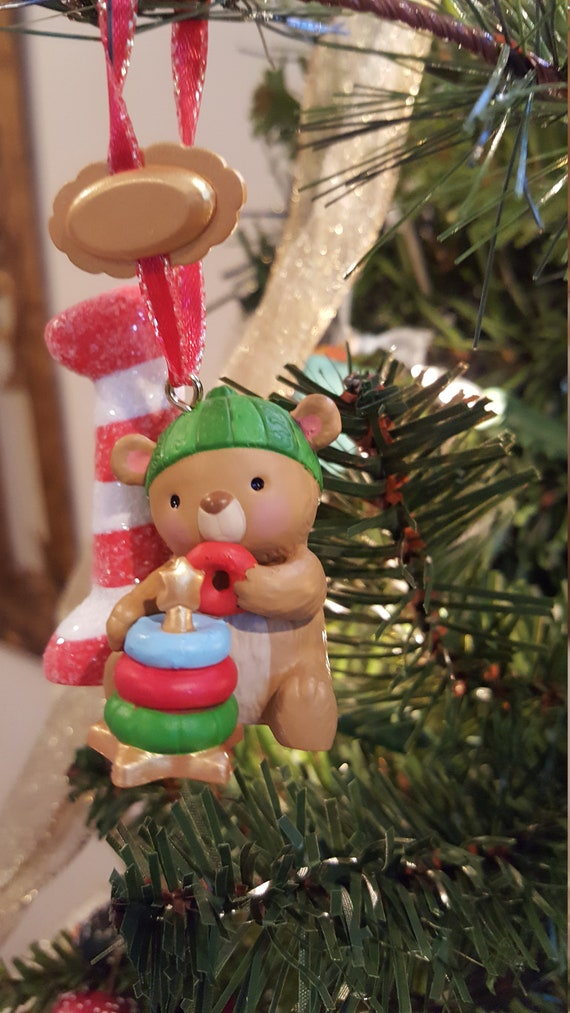 ~ Age Series Personalize Hallmark 2014 Keepsake Christmas Ornament ~ I Am One
