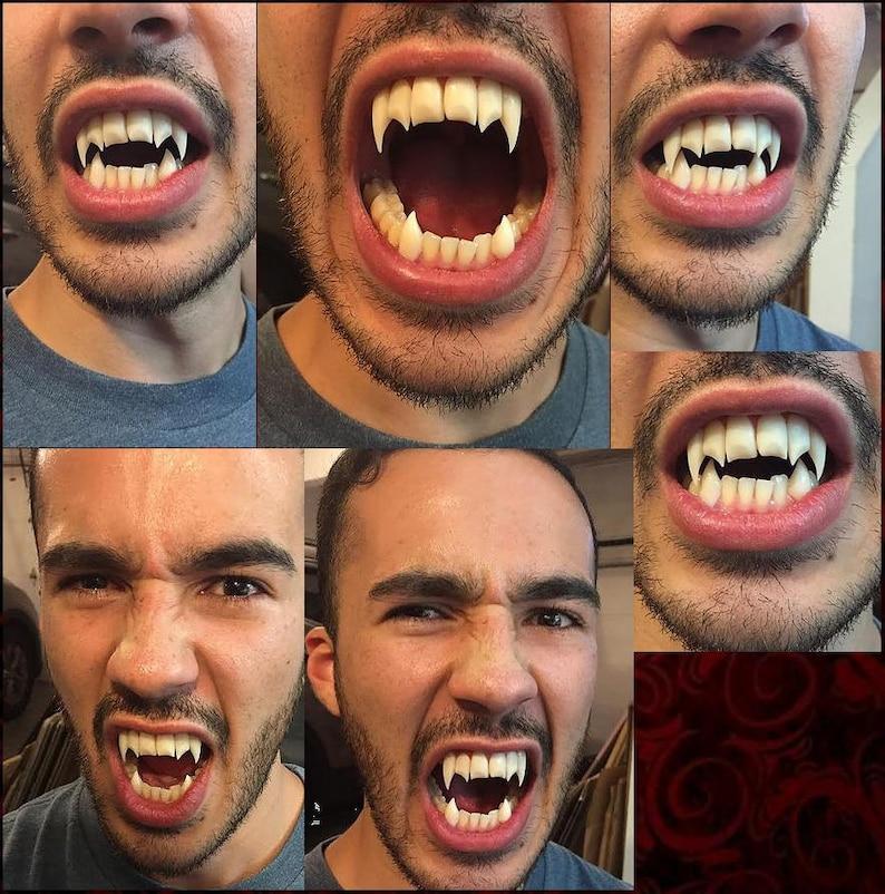 Teen Wolf Replica Fangs Custom made from scratch image 0