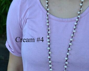"SALE 17"" Peyton | Cream #1"