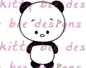 Panda Love Digital Stamp