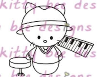 Piano Kit Digital Stamp