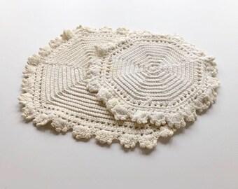 Crochet Table Mat Etsy