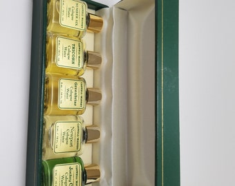 Vintage Caswell Massey Cologne 250th Anniversary Special Edition Minis - Tricorn