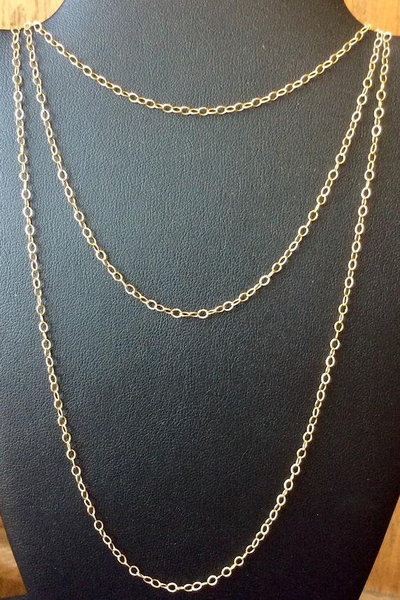 Dainty gold chain