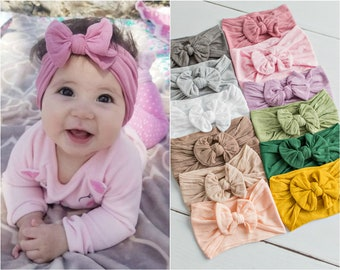 Nylon Baby girl headbands 28bab5c1b2b