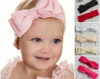 Top knot headband baby  0f1dbb5200d