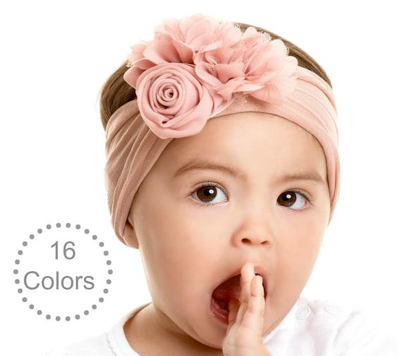 Fancy Headbands for Girls Baby Headbands One Size Fits All Toddler Headbands All Handmade