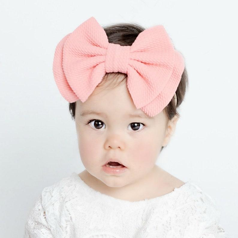 Baby Girl Headband Newborn  Baby Bows Oversized Bow Baby Headband U PICK Big Bow Headband Large Bow Headband,ZARA Skinny Nylon Headband