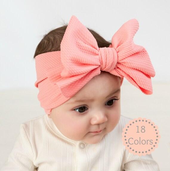 Infant Headbands Newborn Headband Top Knot Baby Headband Baby Bows Baby Head Bands Toddler Headband Baby Headwrap Baby Girl Headband