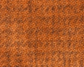 Weeks Dye Works Hand Dyed, Felted 100 Wool Fabric - Sweet Potato Glens Plaid Approx 9 quot x 10 quot or 9 quot x 18 quot - Applique Wool Fabric