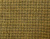 Felted Wool Fabric Approx. 8 quot x 10 quot or 8 quot x 16 quot - Hand Dyed Wool Fabric in Honeycomb Houndstooth - Applique or Rug Hooking Wool