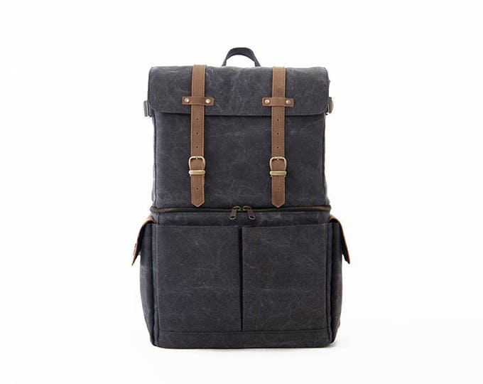 Travel Bag - Buy Canvas Journeyman Grey Color Camera+Laptop Backpack