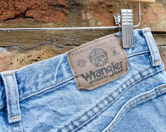 c6563fa8dd1 Vintage 90s Wrangler Jean Shorts
