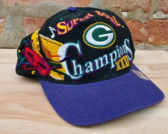 51f119b8b Vintage 90s Green Bay Packers Super Bowl XXXI Champions Hat
