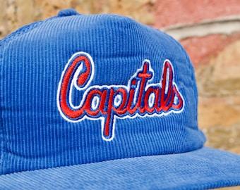 Vintage 90s Washington Capitals NHL Hat  4f3899c7bd4
