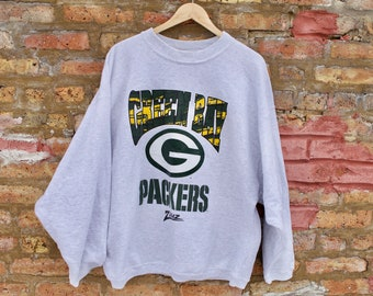 692fed8259fc Vintage 90s Green Bay Packers Funky Sweater