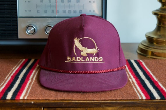 Vintage 90s Badlands National Park Hat | South Dak