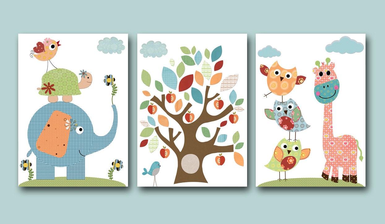 Kids Art Childrens Art Kid Wall Art Baby Room Decor Girl Baby | Etsy