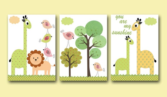 Art for Kids Room Kids Wall Art Baby Room Decor Kids Nursery