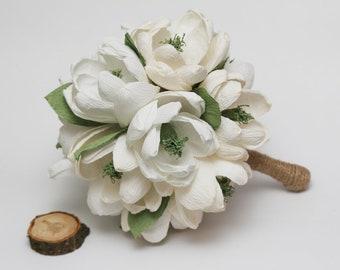 wedding bouquet, rustic bridal bouquet, rustic wedding, rustic wedding decor, rustic flowers, rustic white flowers, rustic ivory flowers