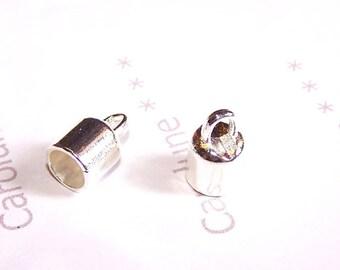 liberty 100 Fermoirs-embouts à griffe couleur bronze pour bracelets fils