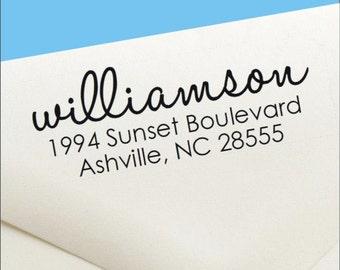 Self Inking Return Address Stamp - Self Inking Address Stamp - Custom Address Stamp - Wedding Invitation Stamp - Housewarming Gift