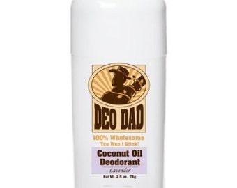 Coconut Oil Deodorant (Lavender)