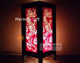 Lanterne Japonaise Yang Zen Yin Asie DeEtsy Orientale Lampe kuPwXiZOT