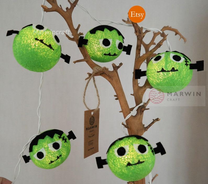 Frankenstein String Lights