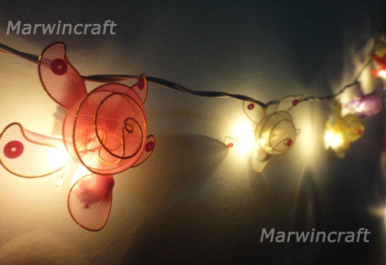 22. Multi-String Turtle Fairy Lights