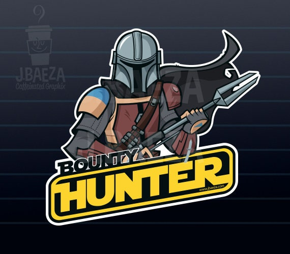Bounty Hunter BUY 2 GET 1 FREE  Vinyl Sticker Decal