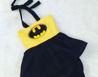 Batman, baby, costume,  Halloween, dress, Shorties, cotton diaper cover,  nb, size 3, 6, 9, 12, 24 months, 2T