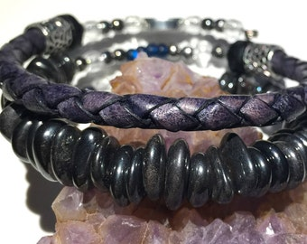Men's or women's recovery bracelet,men's NA sobriety bracelet,recovery 12 step bracelet, narcotics anonymous, mens NA bracelet, mens NA gift
